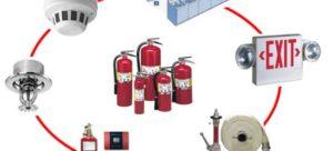 معدات إطفاء الحريق