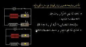 مرور التيار الكهربائي