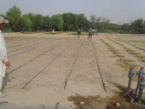 تحضير الأرض للزراعة