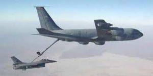 عملية تموين الطائرة بالوقود
