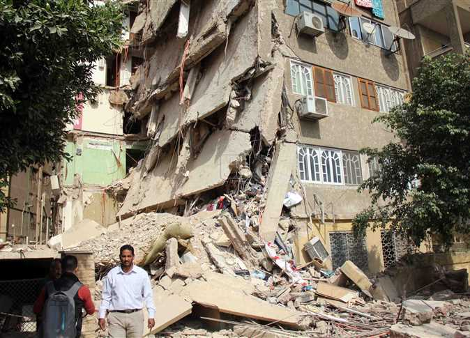 انهيار المباني